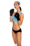 Female MMA Fighter Royalty Free Stock Photo