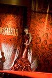 Female model on fashion show Royalty Free Stock Image