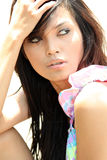 Female model outdoor Stock Photography