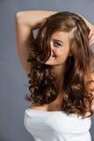 Female model in pose stock photo