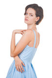 Female model in studio Royalty Free Stock Images