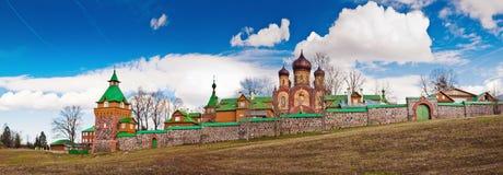 Female monastery in Pjuhtitse Stock Photos