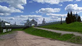 Female monastery in Russia. Intercession Tervenichesky female monastery in Russia Royalty Free Stock Photos