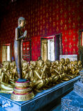 Female monk statues in Thailand. Stock Images