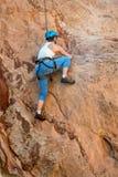 Female Mountain Climber Woman Royalty Free Stock Photo