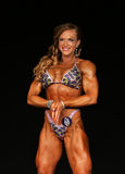 Female Muscle Power Royalty Free Stock Photography
