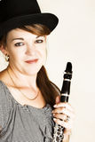 female musician Στοκ Εικόνα