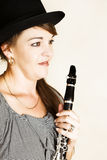 Female Musician Stock Photography