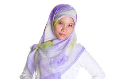 Female Muslim With Hijab IV Royalty Free Stock Photography