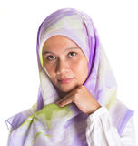 Female Muslim With Hijab VI Royalty Free Stock Images