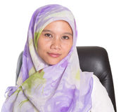Female Muslim Professional With Hijab III Stock Photos