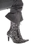 Female new boot on a foot Royalty Free Stock Images