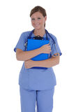 Female nurse 05 Royalty Free Stock Photos