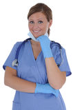 Female Nurse 09 Stock Image