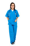 Female nurse Stock Image