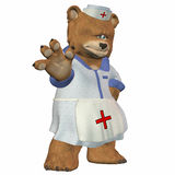 Female Nurse Bear Stock Images