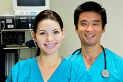 Female Nurse, Doctor Nurse Team Royalty Free Stock Image