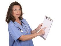 Female nurse Royalty Free Stock Photo