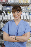 Female Nurse In Hospital Room Royalty Free Stock Images
