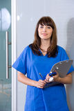 Female Nurse in a modern office Stock Photography