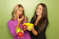 Female Nutritionists Studio Stock Images