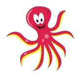 Female octopus Royalty Free Stock Photography