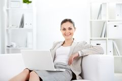 Female in office Stock Image
