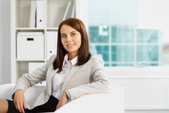 Female in office Royalty Free Stock Photography