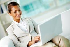 Female in office Stock Photo