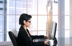 Female Office worker Stock Images