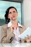Female office worker Stock Photos