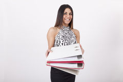 Female office worker Royalty Free Stock Photos