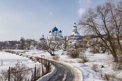 Female Orthodox monastery in the village of Bogolyubovo Stock Photography