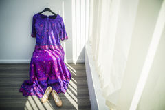 Female Pakistanis Wedding Dress Royalty Free Stock Image
