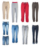 Female pants collection #1 | Isolated Royalty Free Stock Photos