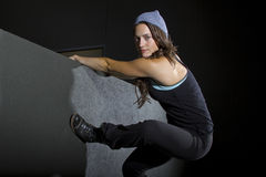 Female Parkour Stock Images