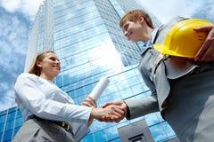 Female partnership Stock Images