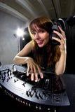 Female Party DJ Stock Photo