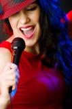 Female performer Royalty Free Stock Photos