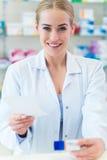 Female pharmacist Stock Image