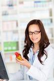 Female pharmacist Royalty Free Stock Photos