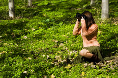 Female photographer Stock Images