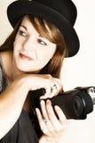 female photographer Στοκ Εικόνες