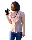 Female photographer Royalty Free Stock Photos