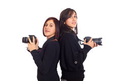Female Photographers Stock Photo