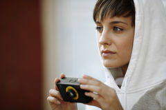 Female photography Stock Images