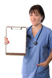 Female physician and doctor Royalty Free Stock Photo