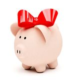 Female piggybank Stock Images