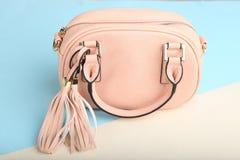 Female pink bag Stock Photo