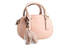 Female pink bag Stock Photos
